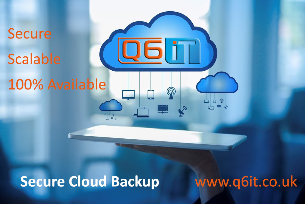 Blue Cloud with Q6IT Logo